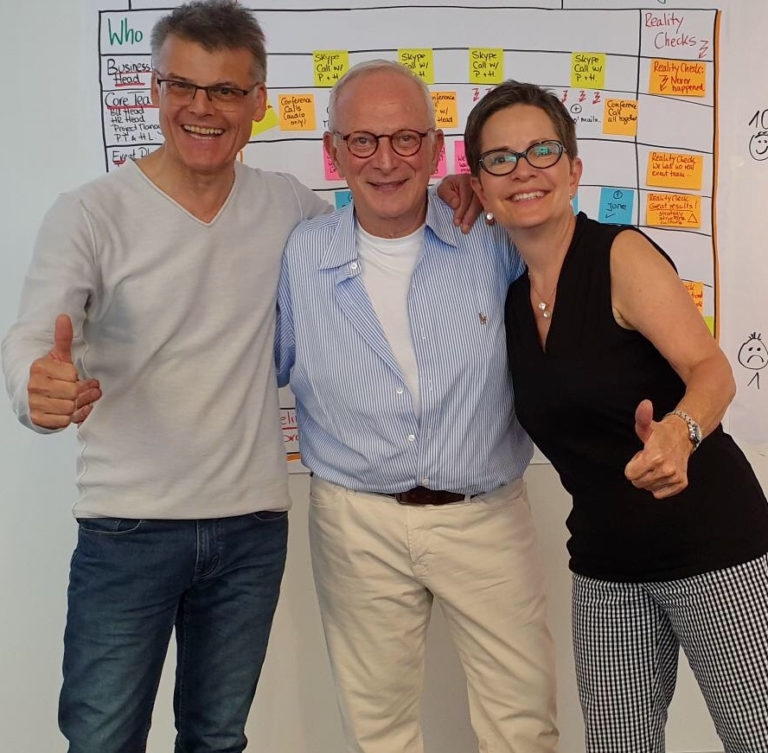 Trainers & facilitators Manfred della Schiava, Paul Tolchinsky, Helga Lensch